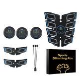 Интеллектуальный тренажер для мышц живота с USB зарядкой Ленивый бодибилдинг Shapping Patch Whole Body Фитнес Инструмент