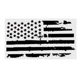 20X35 Pollici USA Flag Car Hood Stickers Vinile Cover Auto Camion Decalcomanie Universali