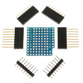 5 pcs ProtoBoard Shield Expansion Board til D1 Mini Double Sided Perf Board Kompatibel