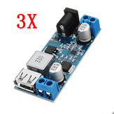 3pcs 24V / 12V To 5V 5A DC-DC Buck Power Module Step Down Module Power Converter