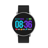 Bakeey T5 Ultra Thin Design Smart Watch Dynamic Heart Rate Monitor Silicone Strap Sport Watch