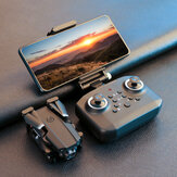 LANSENXI LS-XT6 Mini-WLAN-FPV mit 4K / 1080P HD Faltbare RC-Drohne Quadcopter RTF mit Doppelkamera-Höhenhaltemodus