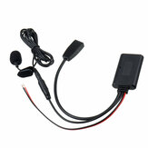 Car Wireless Audio Cable AUX USB Adapter bluetooth Microphone For BMW E46