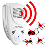 Loskii LP-04 Ultrasonic Pest Repeller Elektroniske skadedyrsbekæmpelse Repel Mouse Mosquitoes Roaches Killer