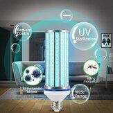 E27消毒UVランプUVC LED細菌クリーナー電球紫外線照明AC85-265V