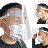 Outdoor Transparant Beschermend Masker Waterdicht Afneembaar Reglement Stofdicht Speekselbestendig Masker voor volwassenen