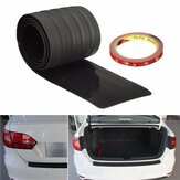Rubber Rear Bumper Protector Trim Cover for VW Golf Passat Benz Audi BMW Mazda 91*7.8*0.3cm
