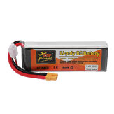 ZOP Power 7.4V 7500mAh 35C 2S Lipo Battery XT60 Plug for RC Quadcopter RC Car