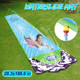Surf Water Slide Fun Lawn Water Slides Pools For Kids Water Spray Mat Home Backyard Outdoor Children Adult Summer Water Toys