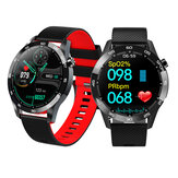 [Body Temperature Monitor]Bakeey F22L 1.54 Inch Full Touch Screen Heart Rate Blood Pressure SpO2 Monitor Breathe Training Multiple Watch Face Smart Watch