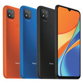 Xiaomi Redmi 9C Global Version 6,53 polegadas 2GB 32GB 13MP Câmera tripla 5000mAh MTK Helio G35 Octa core 4G Smartphone