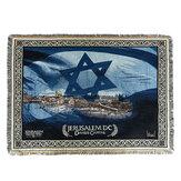 Składany Koc Dekoracyjny Dzianinowy Gobelin Modlitewny Dywan Middle East Ręcznik Sofa na Tekstylia Domowe