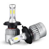 72W 8000LM البوليفيين LED المصابيح الأمامية للسيارات مصابيح الضباب H4 H7 H11 9005 9006 6500K الأبيض 2PCS