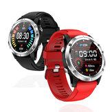 Bakeey T5 pulzusszámú vér oxigénmérő órája Több sport üzemmód futási útvonal pálya időjárás kijelző intelligens óra