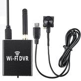 HDC-DVR P2P Mini DVR Wifi Video Recorder Real Time Video & 720P D5A-C Camera Conjunto de câmera sem fio portátil