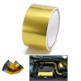 500 Degree Gold Heat Cool Reflective Tape Wrap 2 inchX5m Performance Heat Protection