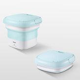 Secchio pieghevole per lavatrice con sterilizzazione all'ozono CHIGO Tipo Lavanderia Detergente per lavatrice da viaggio Borsa da viaggio pieghevole per lavatrice