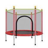 1-3 Kids Trampoline Jumping Mat Spring Cover Padding Home Garden Children Games Max Load 100kg