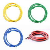 5PCS 1M 12 AWG Silicone Wire SR Wire Red Black Yellow Blue Green