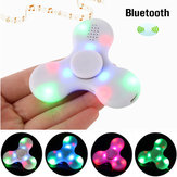 ECUBEE Bluetooth Hand Spinner Wymagalna muzyka LED Fidget Spinner Finger Focus Reduce Stress Gadget
