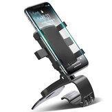 FONKEN Dashboard Авто Держатель телефона 180 градусов Мобильный Смартфон Стоит Зеркало заднего вида Солнцезащитный козырек в Авто GPS навигация Кро