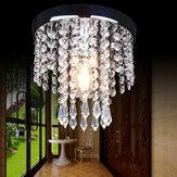 20 * 20 cm allée chambre cristal lustre pendentif lampe plafonnier luminaire