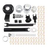 Bonnet Release Lock Repair Kit Latch for Ford Focus MK2 2004-2012 7M5AA16B970AA