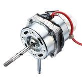 Motoredell'alberodelcuscinettodirotolamento del doppio del motore del ventilatore del condensatore del condizionatore d'aria 1250RPM 60W