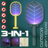 Bakeey 3-In-1 Electric Mosquito Swatter 368mm ultraviolet light LED Lamp Mosquito Killer