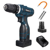 Lomvum 25V Li-Ion Cordless Electric Hammer Power Drills Driver Hand Набор 2 Speed ​​LED