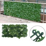 25x50cm Kunstmatige Ivy Leaf Fence Green Garden Yard Privacy Screen Haagplanten voor Outdoor Home Decor