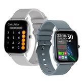[Appel Bluetooth] Bakeey GW22 1.6 pouces Grand écran tactile complet Fréquence cardiaque Pression artérielle O2 Moniteur Calculatrice Montre intelligente étanche