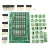 Double-side PCB Prototype Screw Terminal Block Shield Board Kit For Mega2560 R3