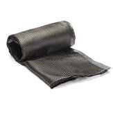 12 Inch Width Carbon Fiber Cloth 3K Twill Plain Fabric Weave Sheet