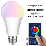 E27 E26 B22 RGBW Smart luce a led Lampadina 7W WiFi IOS Android Amazon Alexa Google lampada AC85-265V