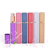 12ml Aluminum Portable Travel Perfume Atomizer Spray Refillable Bottles Cosmetic Container
