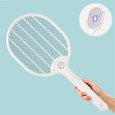 3PCS Jordan&judy 3000V Electric Mosquito Swatter Portable Insect Repellent Travel Three-layer Anti-electric Shock Net USB Charging Mosquito Dispeller from Xiaomi youpin