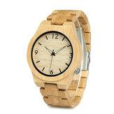 BOBO BIRD WD27 Bamboo Wooden Watch