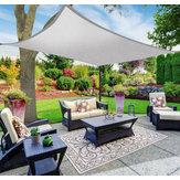 4x4 / 6 / 8M Sonnensegel Segel Outdoor Garten Terrasse UV Proof Markise Baldachin Wasserdichte Bildschirmabdeckung