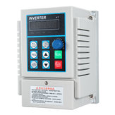 AC 220V 0.75KW VFD Variable Frequency Drive Inverter Frequency Converter Single Phrase In Three Phra