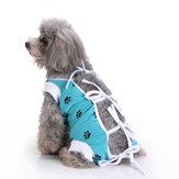 Pet Cachorro Cuidados Com Roupas Cachorro Cirurgia Roupas Para Cuidados Pós-operatórios De Enfermagem Colete Fisiológico