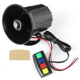 4 Sound Loud 110dB 30W 12V Alarm Ogień Horn Siren Speaker For Car Motorcycle RV