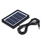 6V Class A Polycrystalline Solar Panel with 3m Cable for Light/Monitoring/Lighting System