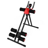 LCD Sit Up Bench 4 Modi Einstellbare Bauchmuskeltrainingsmaschine Muscle Gym Indoor Fitnessgeräte