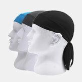 Outdoor Riding Pirate Hut Schnelltrocknender, atmungsaktiver Sonnenschutz mit Bandban-Kopfbändern