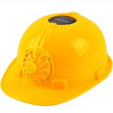 Solar Charging Power Air Conditioner Cooling Fan Outdoor Working Hard Hat Construction Worker Helmet
