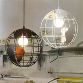 Globe Chandelier Modern Creativo Para Restaurant Bar Table Cafe Té Shop Light
