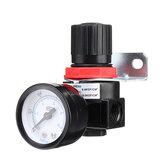 LAIZE AR2000 Luftdruckregler Pneumatisches Druckregelventil G1/4 Anschluss für Druckluftsystem