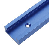 Blue 100-1200mm T-slot T-track Miter Track Jig Fixture Slot 30x12.8mm For Table Saw Router Table Woodworking Tool