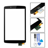 Touch Screen Digitizer Lens Replacement + Tools Para LG G pad F 8.0 V496 V495